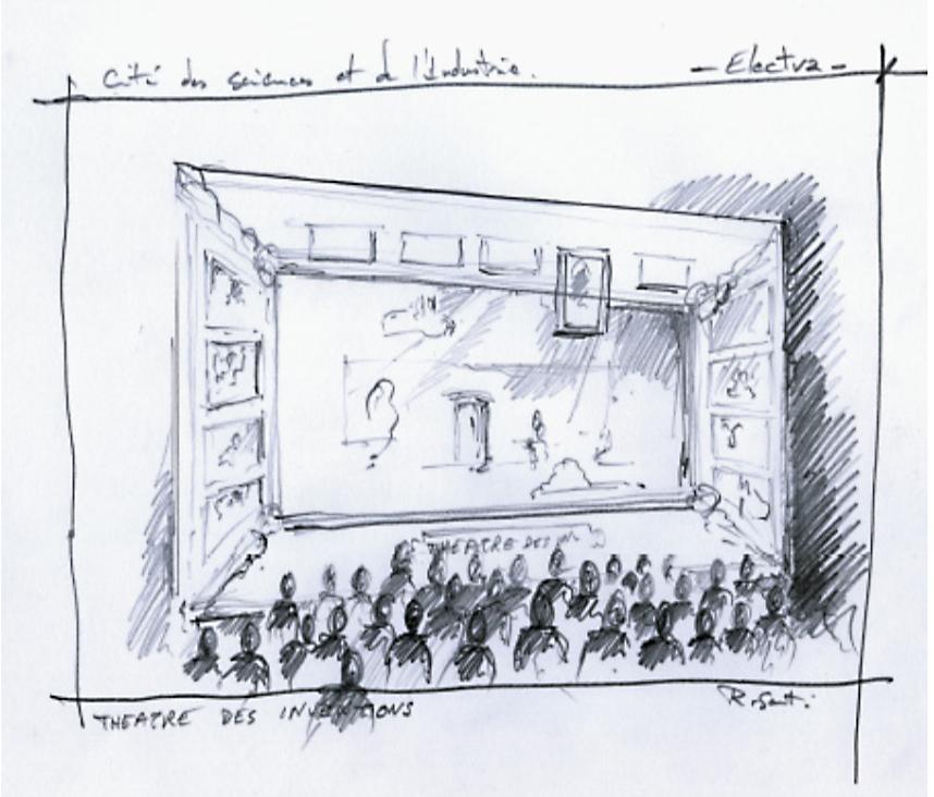 Scénographie de Raymond Sarti, Electra