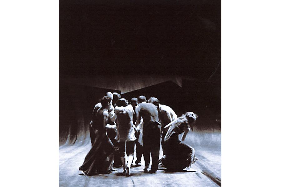 Scénographie de Raymond Sarti, Asile Poétique