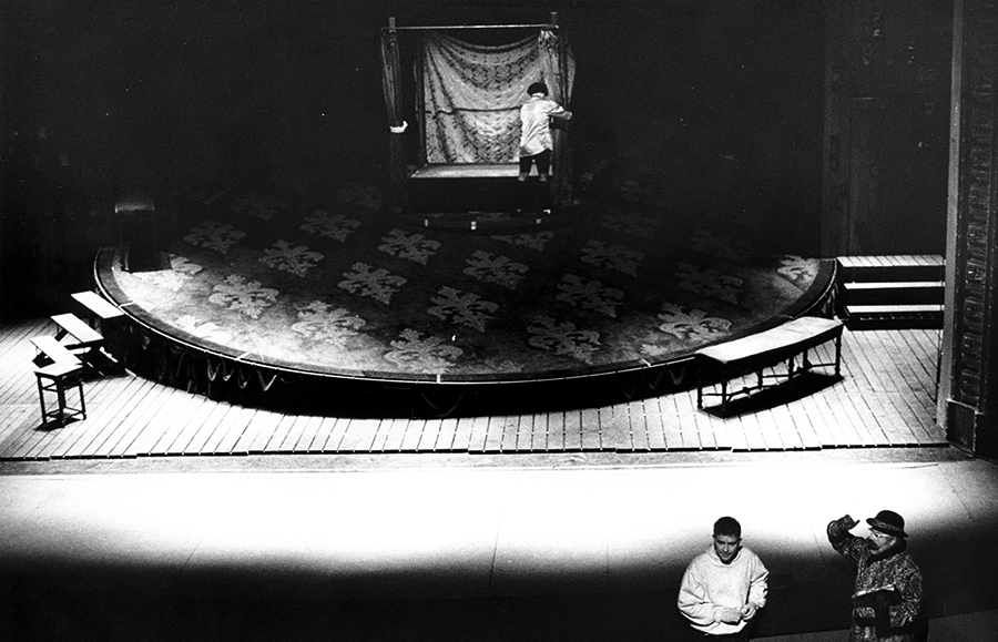 Scénographie de Raymond Sarti, Volpone