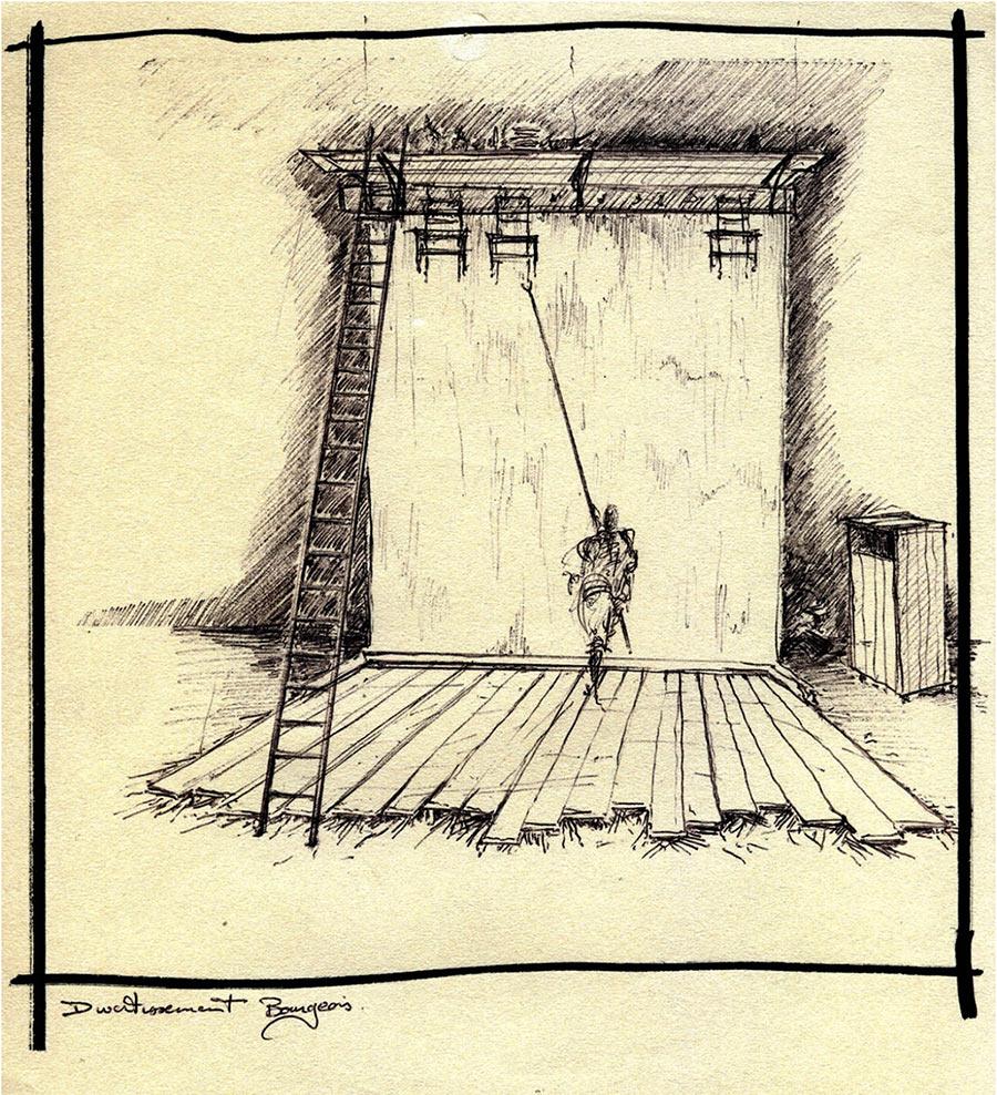 Scénographie de Raymond Sarti, Scénographie de Raymond Sarti, Divertissement bourgeois
