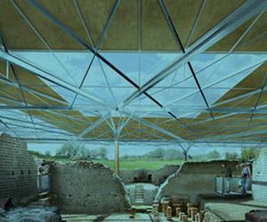 Scénographie de Raymond Sarti, Site archéologique de Chassenon