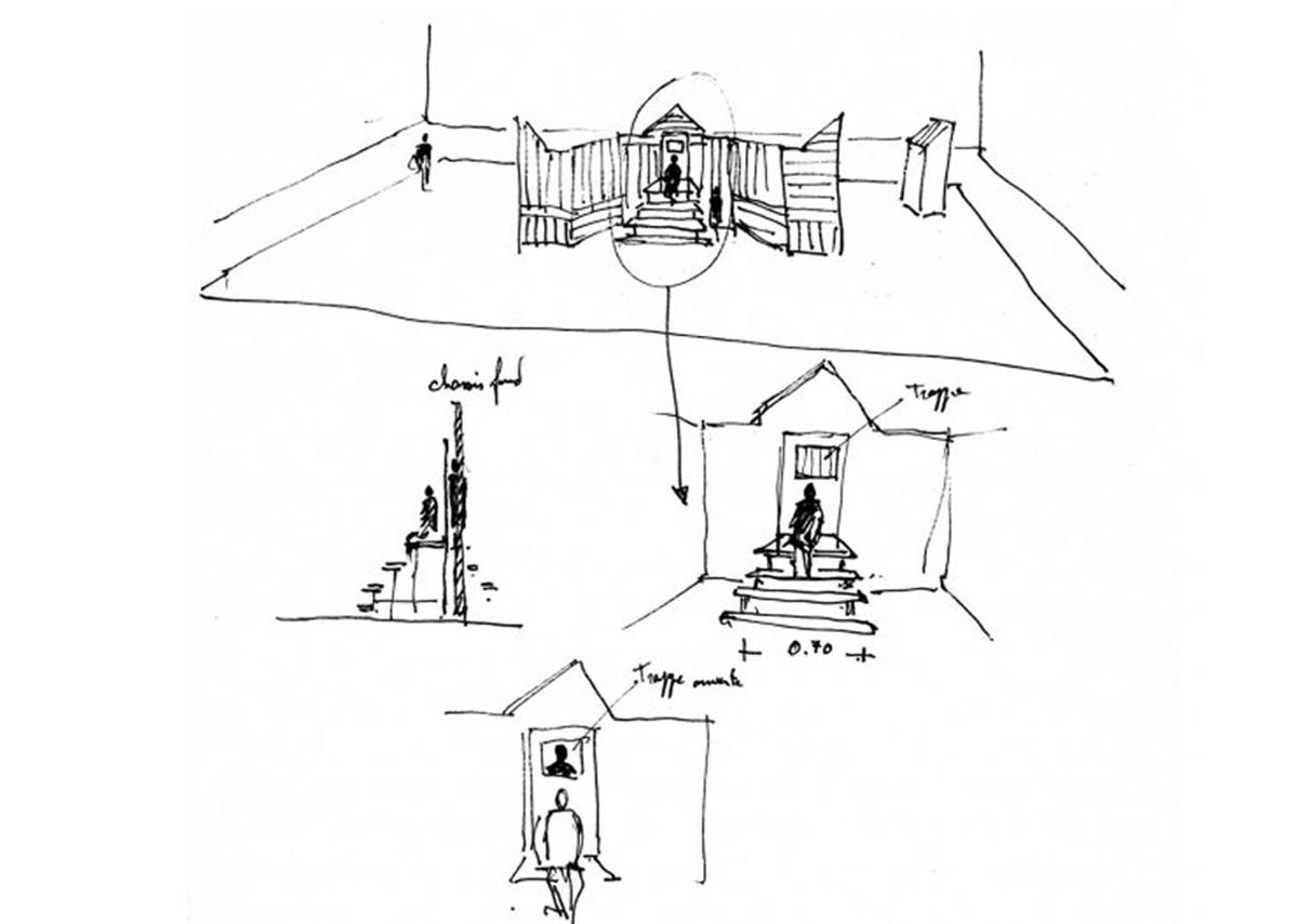 Scénographie de Raymond Sarti, Architruc