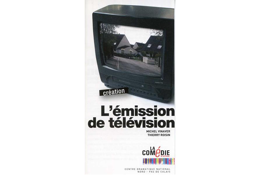 Scénographie de Raymond Sarti, L'émission de télévision