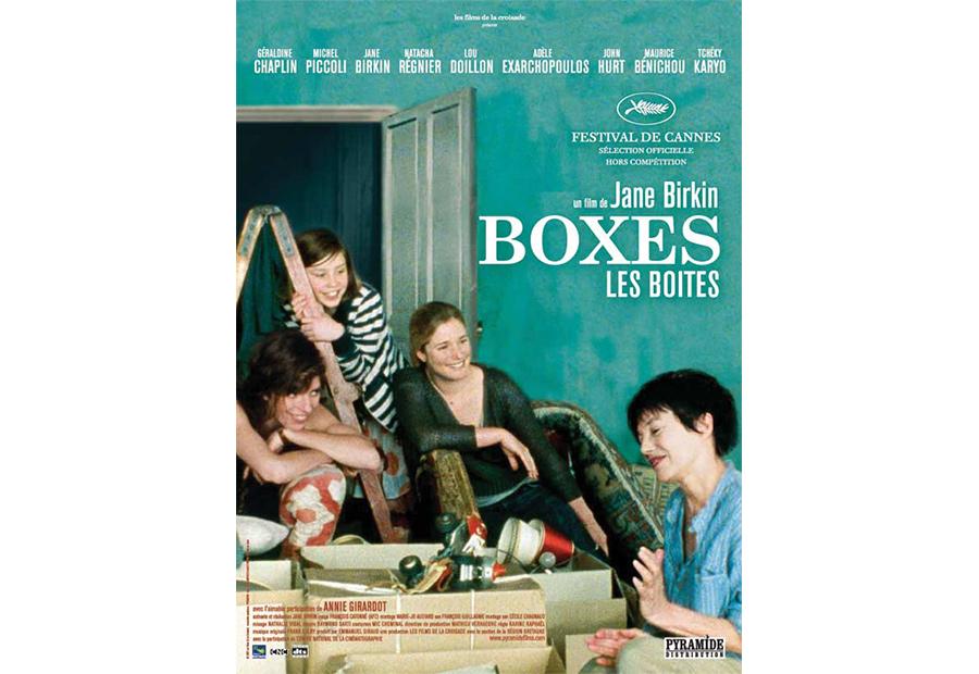 Scénographie de Raymond Sarti, Boxes, les boites