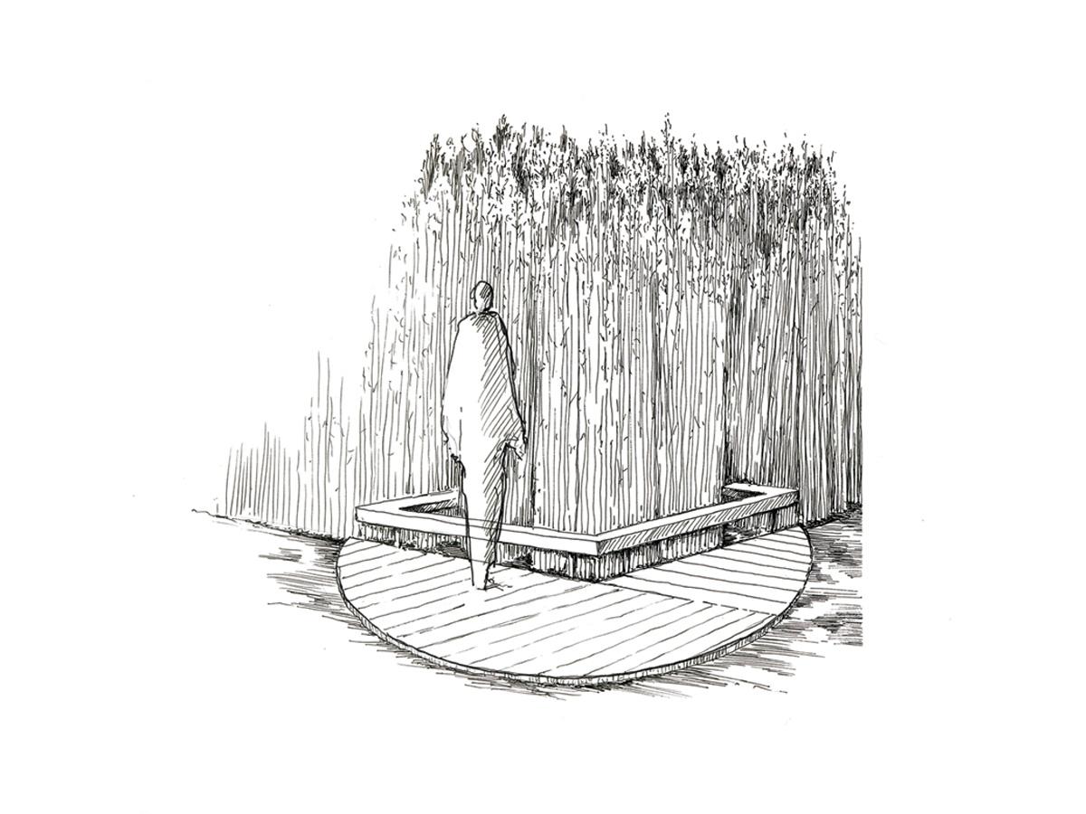Scénographie de Raymond Sarti, Marais du Vigueirat