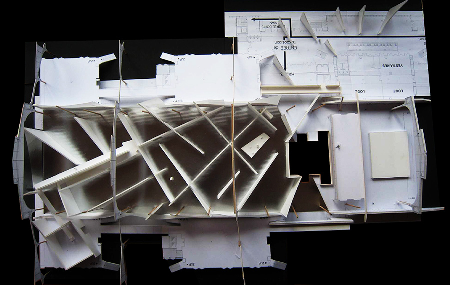 Scénographie de Raymond Sarti, Scénographie de Raymond Sarti, Kreyol Factory