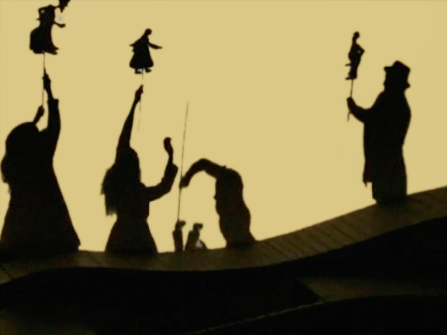 Scénographie de Raymond Sarti, Les noces du rétameur / La fontaine aux saints