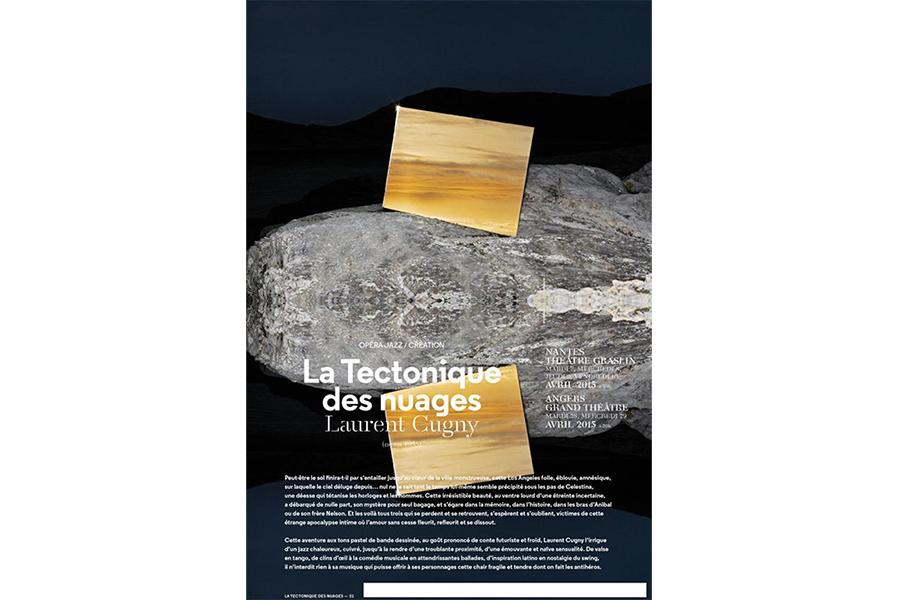 Scénographie de Raymond Sarti, La tectonique des nuages