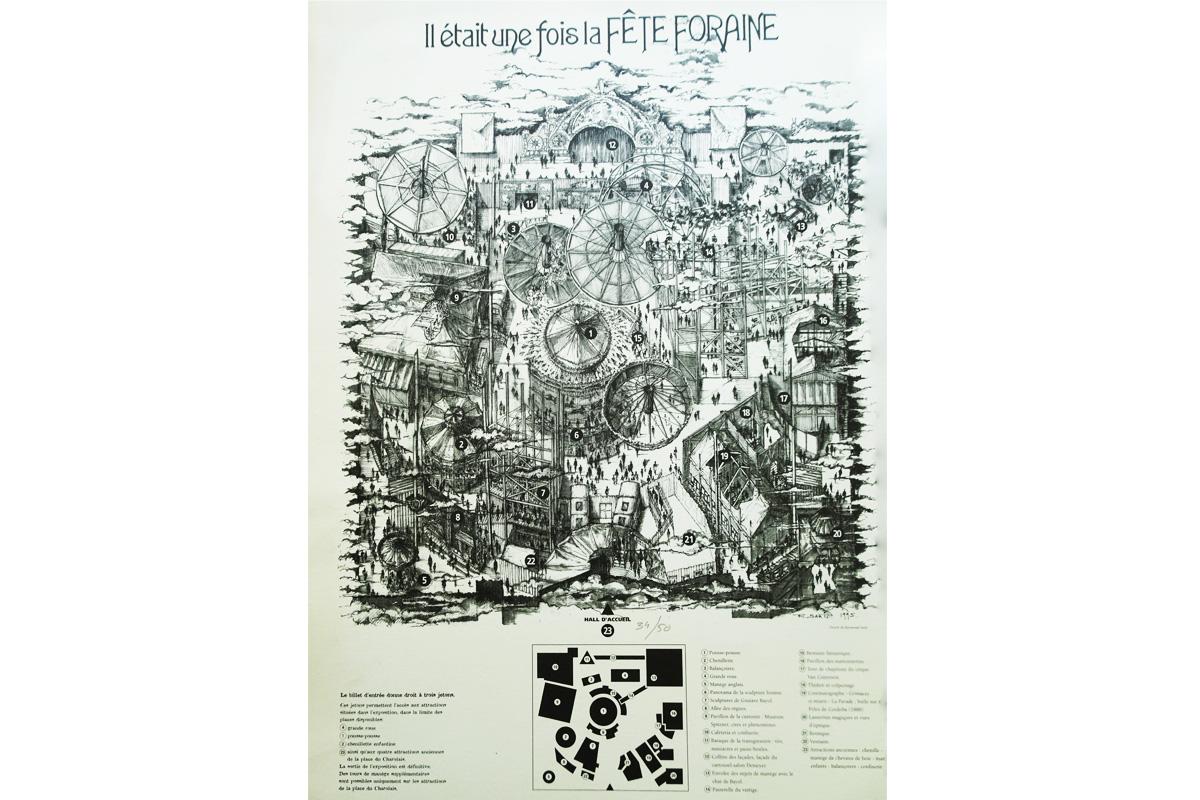 Scénographie de Raymond Sarti, Il était une fois la Fête Foraine