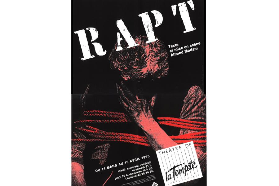 Scénographie de Raymond Sarti, RAPT