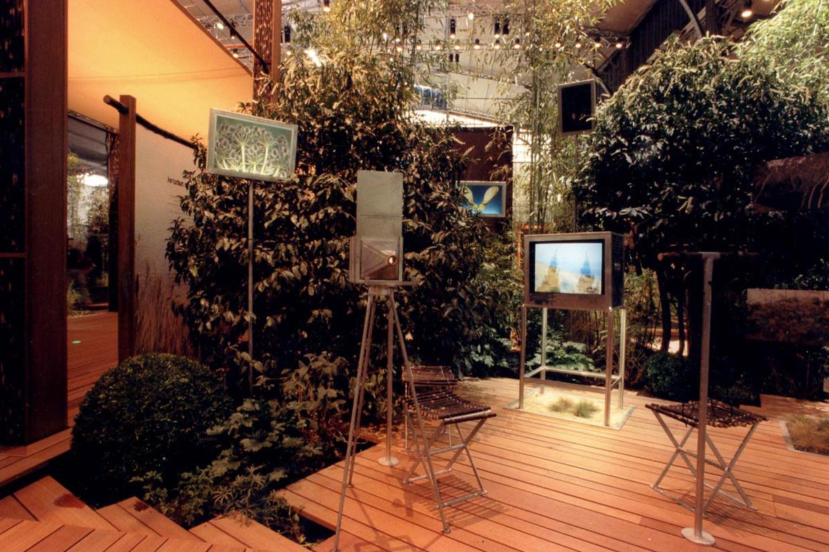 Scénographie de Raymond Sarti, Le Jardin Planétaire