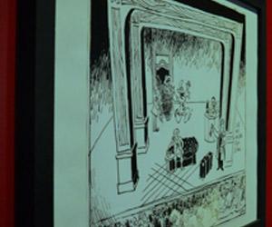 Scénographie de Raymond Sarti,Cabu Le théâtre à main levée