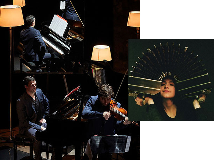 Scénographie de Raymond Sarti,« Francesita » Louise Jallu Quartet