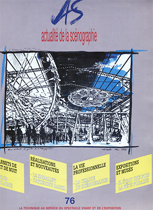 Publication Raymond Sarti, Actualité de la scénographie