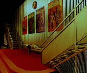 """Raymond Sarti Scénographie, """"Le Hall du Théâtre de l'Aquarium"""""""
