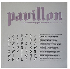 Publication Raymond Sarti, Publication Raymond Sarti, Publication Raymond Sarti, PAVILLON