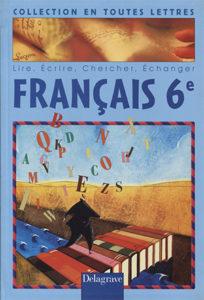 Publication Raymond Sarti, Livre de Français 6ème